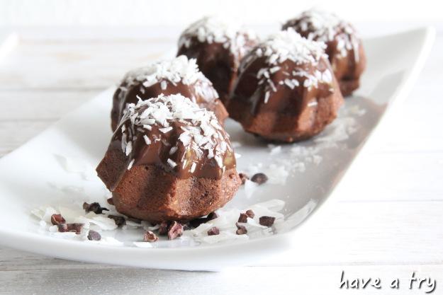 Mini-Gugel Schoko-Kokos (vegan)