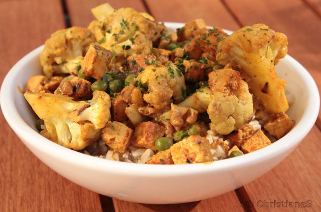 Blumenkohl Walnuss Curry